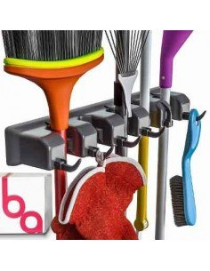 Berry Ave Broom Holder Organizador De Herramientas