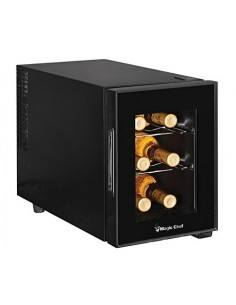 Magic Chef Mcwc6b Enfriador De Vino Con Encimera 6 Botellas